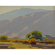"Sam Hyde Harris   ""Solitude""  16x20 oil on board"