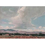 Rygh Westby   Heading Home-New Mexico  22x32 oil