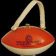 SOLD Figural Football Purse-
