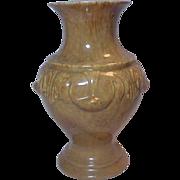 Huge Royal Haeger  Pottery  USA Vase Nice Design Pottery   Browns