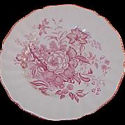 8 Royal Doulton The Kirkwood Pink / Red  8 1/2 inch Plates Set Salad Desert ...