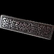 Sterling Bar Pin Jewelry Brooch