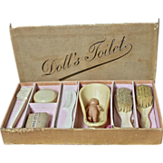 REDUCED Darling All Original Doll's Toilet Set