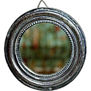 Nice Miniature Antique Mirror