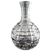 Antique glass water bottle carafe Block & Fan Richards & Hartley