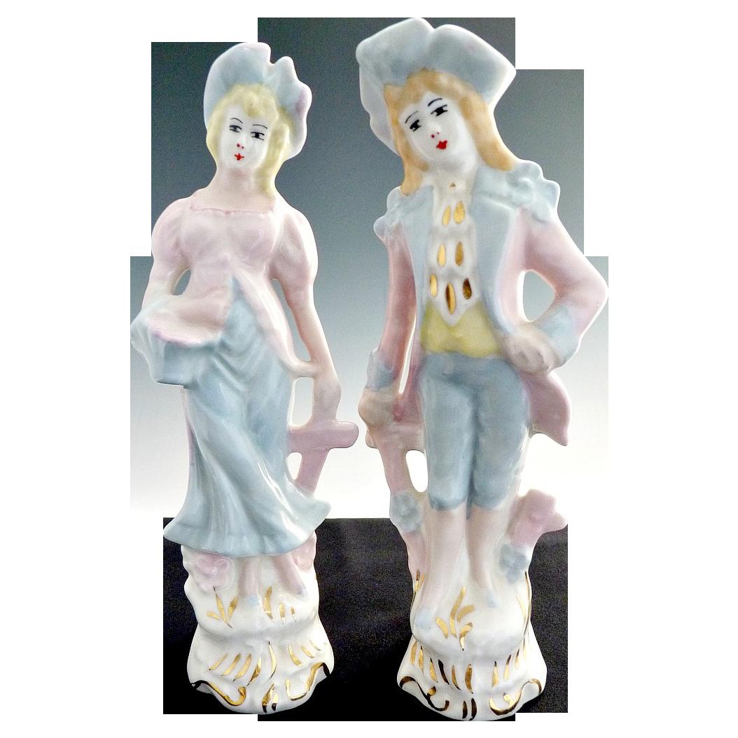 Vintage Figurines Japanese Porcelain C 1940s 18th Century