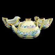Art Deco tea set daisies gold Bavaria
