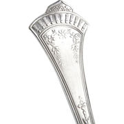 SOLD Rogers & Bros silver butter knife Crown c. 1885