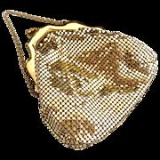 Whiting Davis gold mesh purse c. 1920s