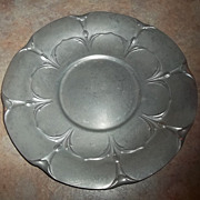 C. 1930's Reed and Barton Serving Plate  Tray