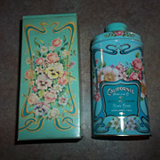 Advertising Tin Avon California Perfume Company