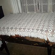 Vintage Crochet Table Piano Runner