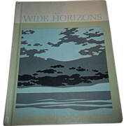 SALE Children's H.C. Reader Primer Wide Horizons  1966 Book 1
