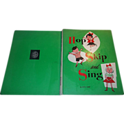 Children's Book Hop Skip and Sing C. 1959