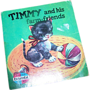 Timmy and his farm-friends Soft Bound Booklet Book