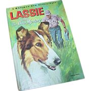 A Whitman Big Tell-a-Tale Book Lassie and The Deer Mystery