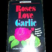 Paper Back Book Roses Love Garlic