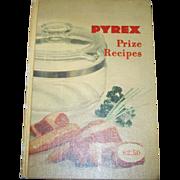 Collectible Book PYREX Prize Recipes C. 1953 Cookbook