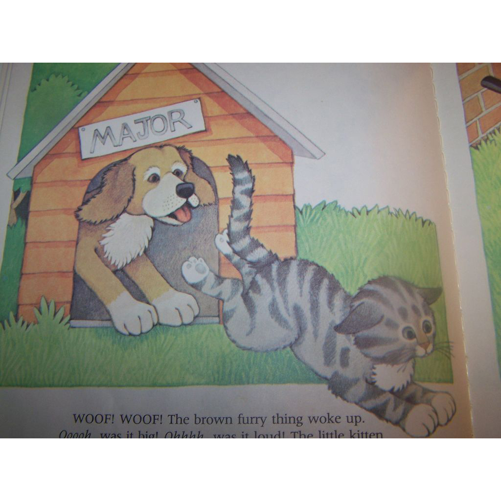 Children s book the curious kitten by linda hayward from victoriasjems