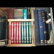 Mid Century Modern Gail Craft Book Case  Coaster Set
