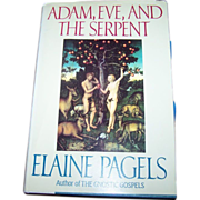 "Hard Bound Book "" Adam , Eve And The Serpent """