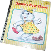 Collectible Vintage Children's Book Bunny's New Shoes Charming
