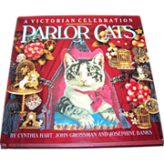 SOLD A Victorian Celebration PARLOR CATS Collectible Book