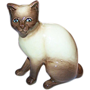 SylvaC Siamese Pussy Cat Figurine 99 Siamese Chocolate Point