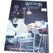 "Soft Cover Book Reference Book "" Wicker Furniture ""Styles and Prices"