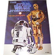 SOLD The Star Wars Storybook Full-Color Photos C 1978  Soft Cover