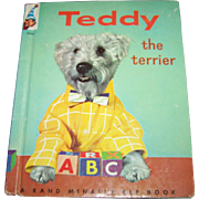 Children's Book Teddy The Terrier A Real Live Animal Book Rand McNally