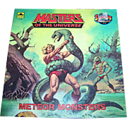 """Soft Cover Book Booklet """" Masters of the Universe """" Meteor Monsters by Jack C. Harri"""