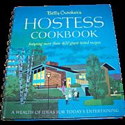 Spiral Bound Betty Crocker HOSTESS Cookbook Golden Press