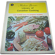 Madame Benoit's Library of Canadian Cooking  Volume  4