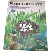 "Vintage Book "" Round about eight "" Poems for today Illustrated by Denis Wrigley"