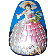 Collectible Vintage Advertising Candy Tin George W. Horner Dainty Dinah