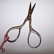 Decorative Vintage Sewing Scissors USA