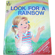 """Start Right Junior Elf Book """" Look For A Rainbow """""""