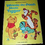 Walt Disney Presents Winnie-the-Pooh Meets Tiger Children's Oversize Book