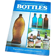 "Vintage Soft Cover Collector Referebnce Book "" Bottles A Golden HandBook of Collectibles"