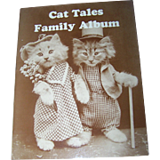 "Vintage Soft Cover Ideals Book Booklet "" Cat Tales Family Album ""  Photo by Harry W. Freese"