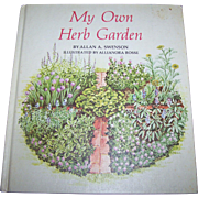 """Vintage Hard Cover Book """" My Own Herb Garden """" 1976 Rodale Press Inc"""