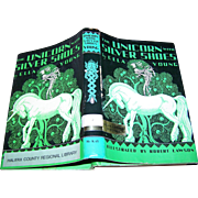 "This Ex Libra Hard Cover Book is Titled "" The Unicorn with Silver Shoes "" by Ella .."