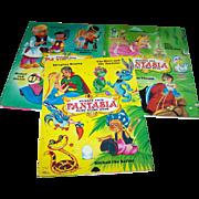 Lot of 3 Vintage Children's Fantasia Fairy Story Books