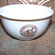 Advertising Restaurant Ware Bowl  Dartmouth Refinery  Imperial Oil Enterprises