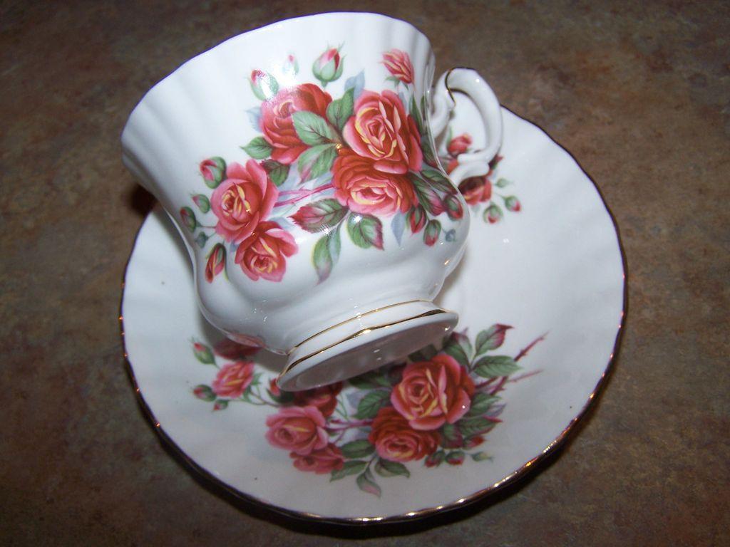 Royal Albert Centennial Rose Tea Cup & Saucer