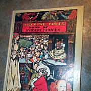 SALE H.C. Vintage Book Old King Cole's Book of Nursery Rhymes