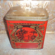 Scenic Nouveau Ocean Blend Tea Toronto Canada Advertising Tin
