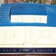 Souvenir Home Bank With Key First Federal Flint