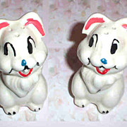 Potter Disney  Bunny Rabbit Thumper Salt & Pepper Shakers Leeds